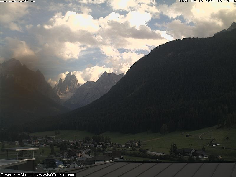 Webcam Sextener Dolomiten